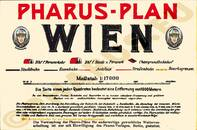 Pharus-Plan Wien 1928 Legende