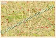 Pharus-Plan Berlin 1910, Central Berlin Kartenseite