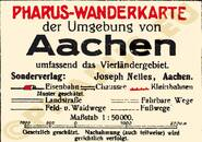 Pharus-Plan Aachen 1929 Legende