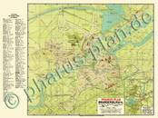 Pharus-Plan Brandenburg / Havel 1914 Kartenseite