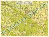 Pharus-Plan Bad Essen 1925 Kartenseite