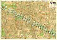 Pharus-Plan Berlin 1951, August 1951 Kartenseite