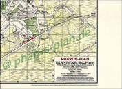 Pharus-Plan Brandenburg/Havel 1920 Titelbild
