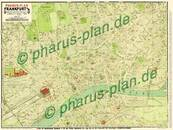 Pharus-Plan Frankfurt am Main 1920 Kartenseite