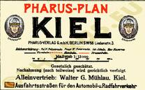 Pharus-Plan Kiel, 1927 Legende
