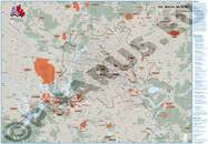 Pharus-Plan A Threatened City - CIA-Map of the Berlin-Region Map