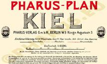 Pharus-Plan Kiel 1905 Legende