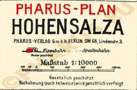 Pharus-Plan Bad Hohensalza 1910 Legende