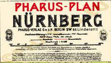 Pharus-Plan Nürnberg 1914 Legende
