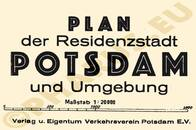 Pharus-Plan Potsdam 1937 Legende
