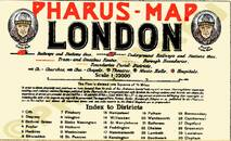 Pharus-Plan London 1932 Legende