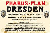 Pharus-Plan Dresden 1910 Legende
