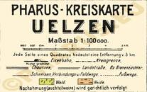 Pharus-Plan Uelzen 1925 Legende