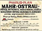 Pharus-Plan Mährisch-Ostrau 1910 Legende