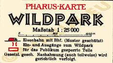 Pharus-Plan Potsdam 1930 Legende