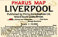 Pharus-Plan Liverpool 1910 Legende