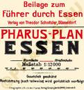 Pharus-Plan Essen 1913 Legende