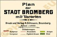 Pharus-Plan Bromberg 1915 Legende