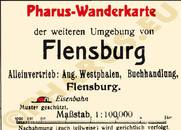 Pharus-Plan Flensburg 1918 Legende
