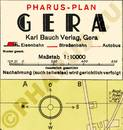 Pharus-Plan Gera 1936 Legende