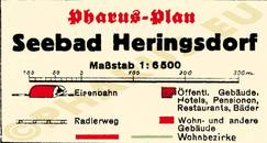 Pharus-Plan Heringsdorf 1935 Legende