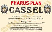 Pharus-Plan Kassel 1910 Legende