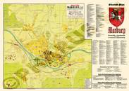 Pharus-Plan Marburg 1939 Gesamtplan