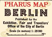 Pharus-Plan Berlin 1929 Legende