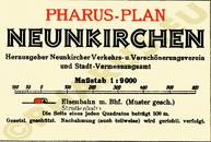 Pharus-Plan Neunkirchen 1929 Legende