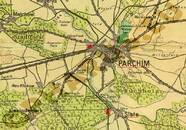 Pharus-Plan Parchim 1930