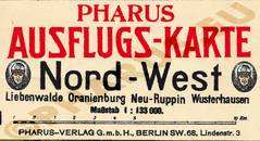 Pharus-Plan Berlin 1920 Legende
