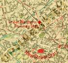 Pharus-Plan Birmingham 1920 Ausschnitt Great Western Railway Station