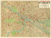 Pharus-Plan London 1912 Kartenseite