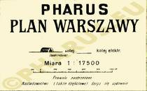 Pharus-Plan Warschau 1920 Legende