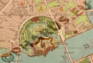 Pharus-Plan Petersburg, Sankt 1910 Peter-und-Paul-Festung