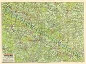 Pharus-Plan Bad Rothenfelde 1925, (Teutoburger Wald) Kartenseite