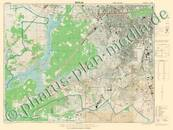 Pharus-Plan Berlin 1945, Alliiertenkarte Kartenseite