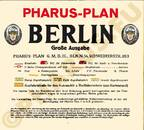 Pharus-Plan Berlin 1934 Legende