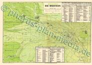 Pharus-Plan Bad Wildungen 1936 Kartenseite