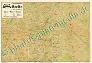 Pharus-Plan Berlin 1932, Sonderplan Kartenseite