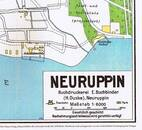 Pharus-Plan Neuruppin 1927 Titelbild