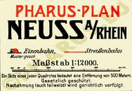 Pharus-Plan Neuß 1926 Legende