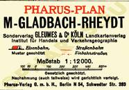 Pharus-Plan Mönchengladbach 1934 Legende