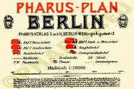 Pharus-Plan Berlin 1905 Legende