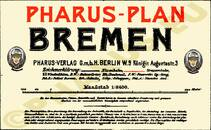 Pharus-Plan Bremen 1904 Legende