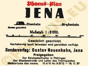 Pharus-Plan Jena 1937 Legende