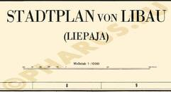Pharus-Plan Libau 1941