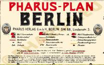 Pharus-Plan Berlin 1907 Legende