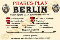 Pharus-Plan Berlin 1927 Legende
