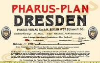 Pharus-Plan Dresden 1930 Legende